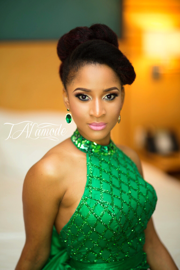 Adesua Etomi Makeup by T.Alamode Makeup LoveweddingsNG 2