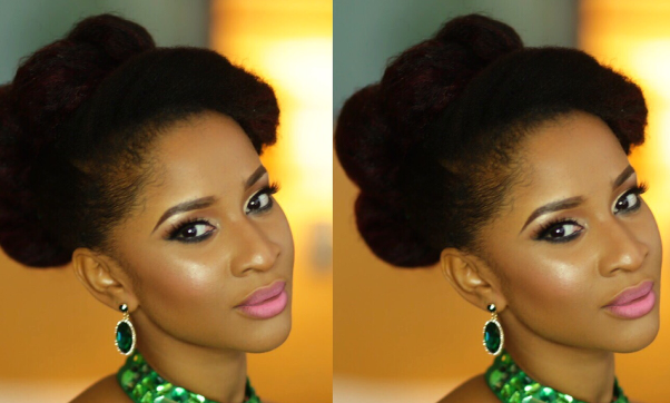 Recreate Adesua Etomi's AMVCA 2016 Look | T.A'Lamode Makeup