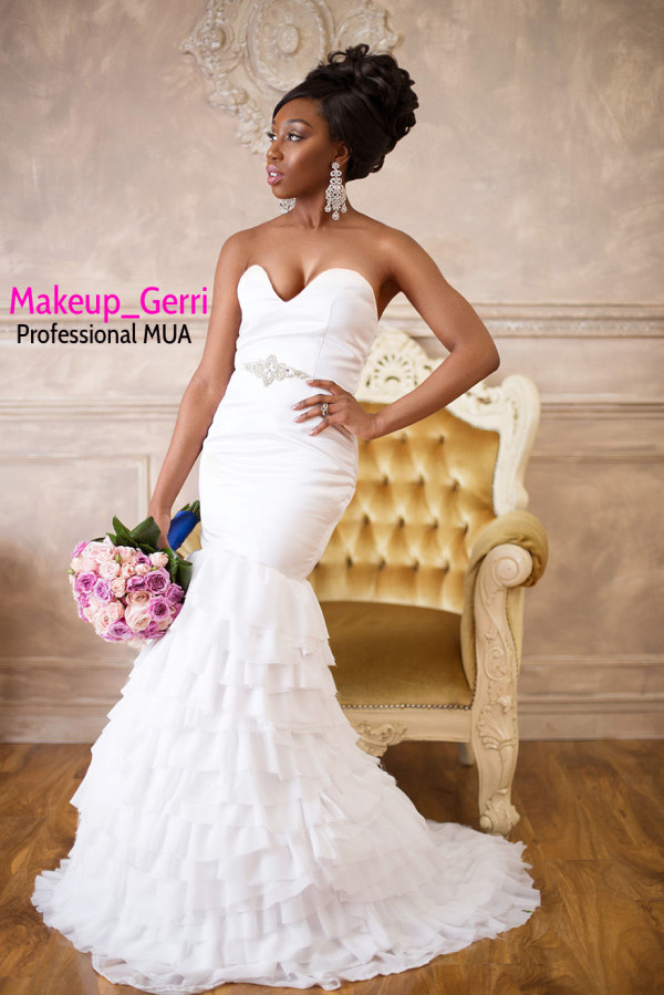Bridal Makeup Inspiration Geraldine Kitenge LoveweddingsNG 2