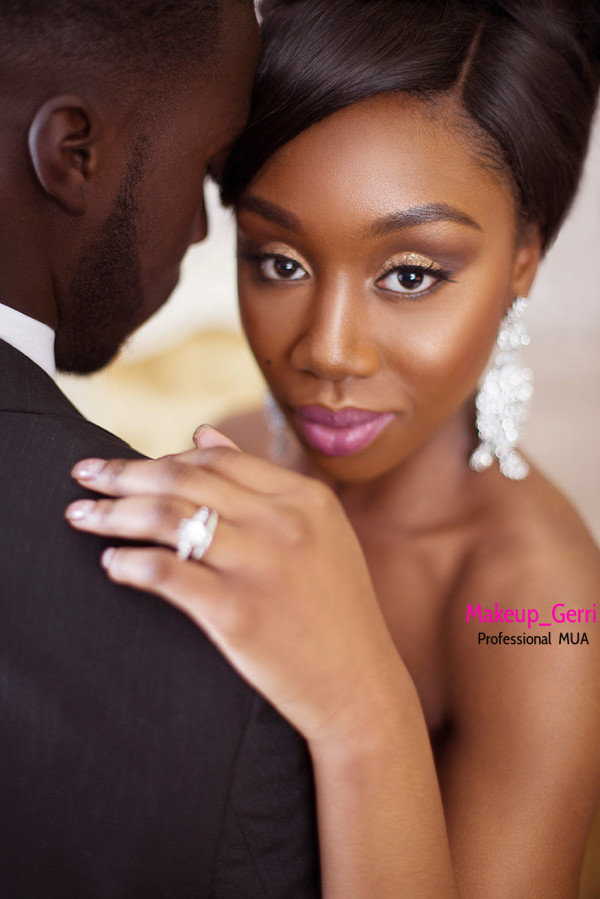 Bridal Makeup Inspiration Geraldine Kitenge LoveweddingsNG 3
