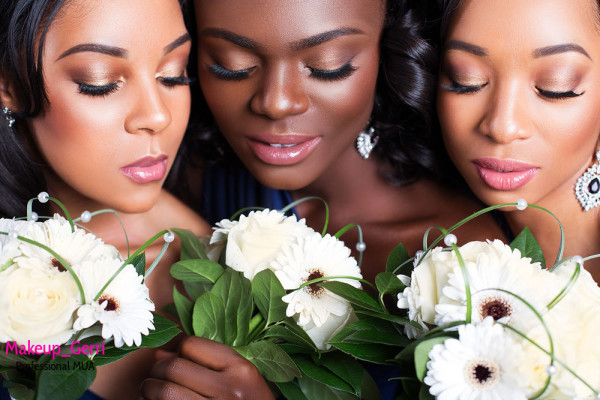 Bridal Makeup Inspiration Geraldine Kitenge LoveweddingsNG 6