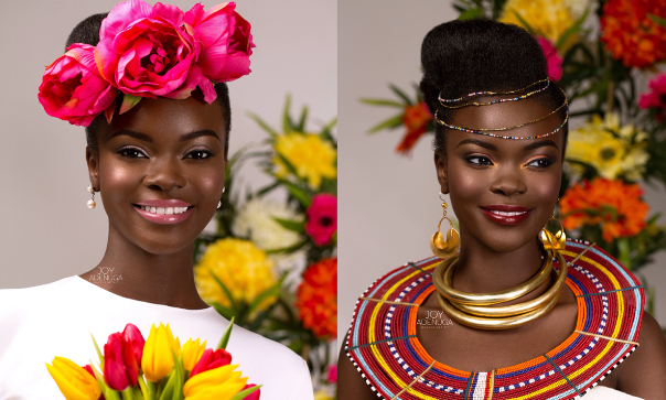 Happy International Women's Day: Three Stunning Bridal Looks by Joy Adenuga