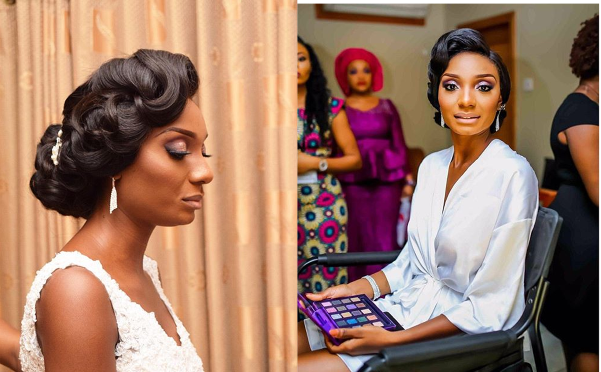 Nigerian Bridal Hair and Makeup #MrandMrsChurch LoveweddingsNG