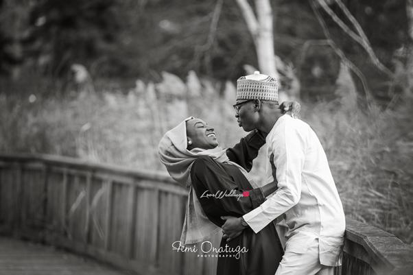 Nigerian Engagement Shoot Bilkisu and Hakeem Femi Onatuga LoveweddingsNG
