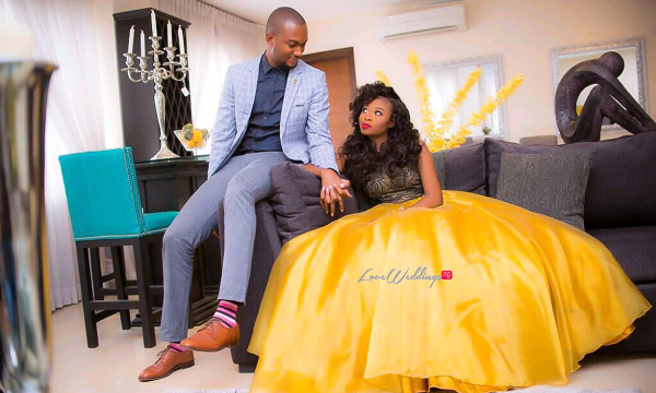Nigerian Engagement Shoot #FrankOmoh2016 LoveweddingsNG feat