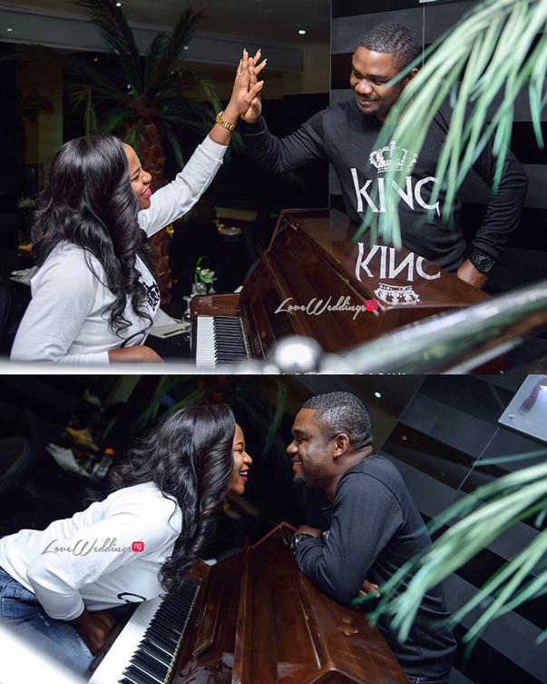 Nigerian Engagement Shoot - Ginika and Okey LoveweddingsNG 1