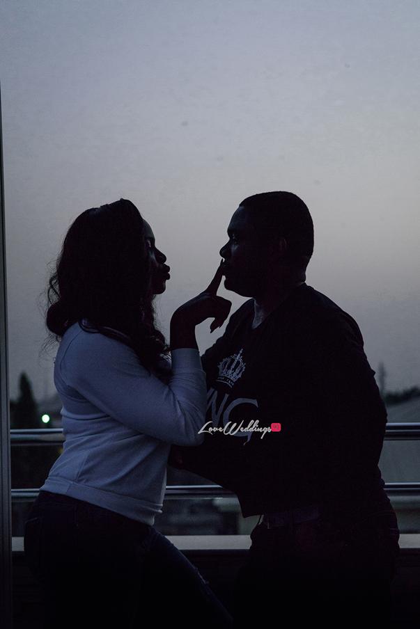 Nigerian Engagement Shoot - Ginika and Okey LoveweddingsNG 10