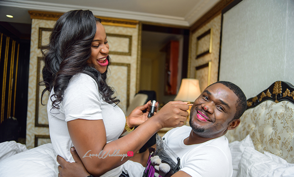 #Giiokey2016 loading: When you marry a makeup artist!!!