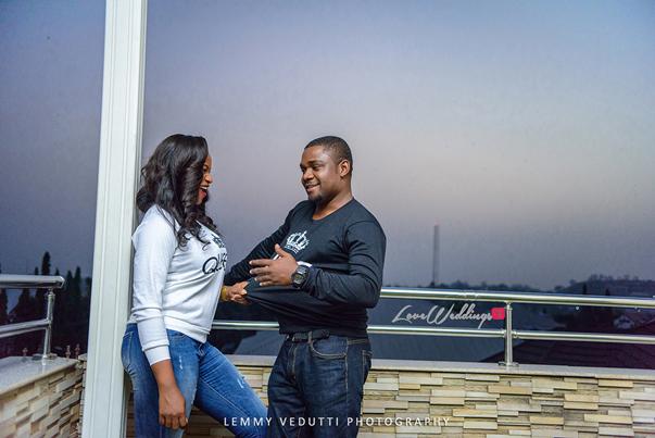 Nigerian Engagement Shoot - Ginika and Okey LoveweddingsNG 16