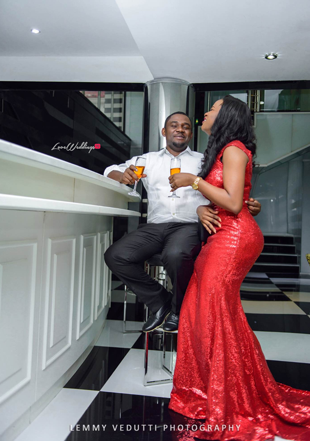 Nigerian Engagement Shoot - Ginika and Okey LoveweddingsNG 2