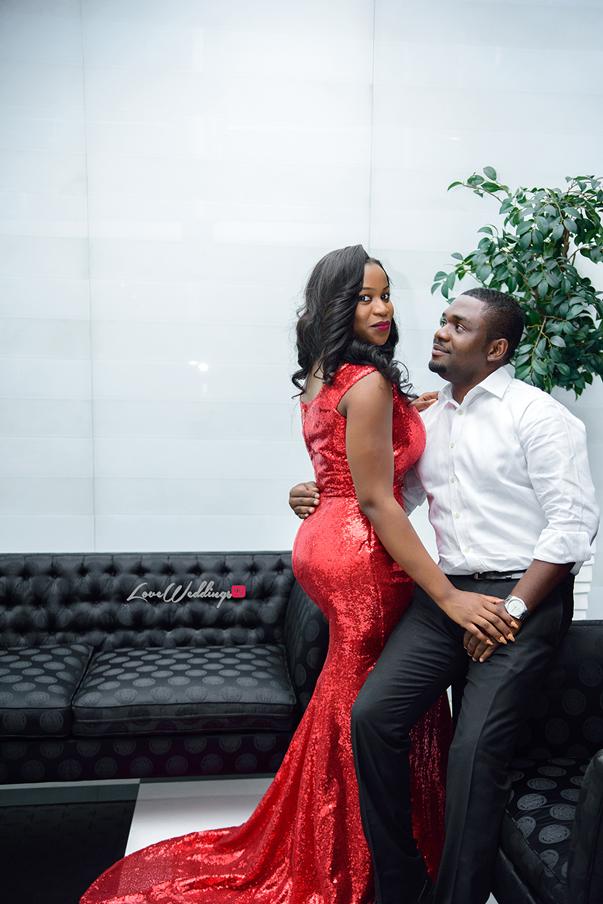 Nigerian Engagement Shoot - Ginika and Okey LoveweddingsNG 5