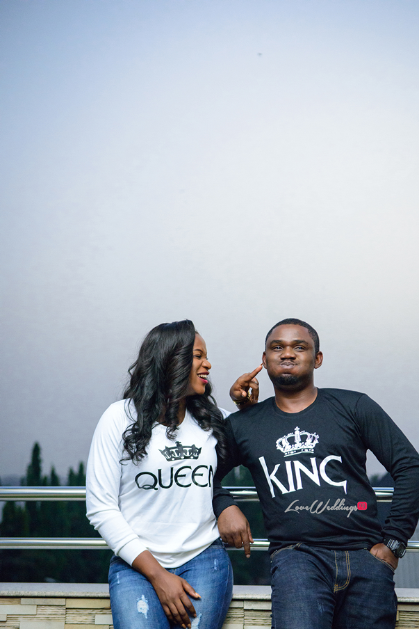 Nigerian Engagement Shoot - Ginika and Okey LoveweddingsNG 8