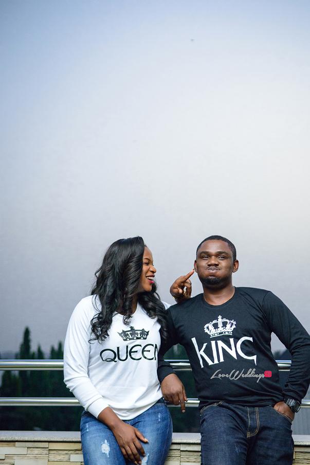 Nigerian Engagement Shoot - Ginika and Okey LoveweddingsNG 8