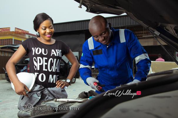 Nigerian Engagement Shoot - Nancy and Chinedu Engineers LoveweddingsNG 2