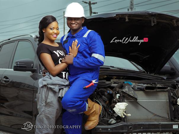 Nigerian Engagement Shoot - Nancy and Chinedu Engineers LoveweddingsNG 3