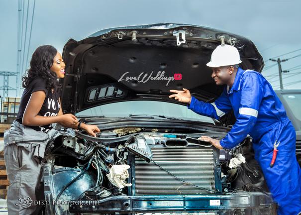 Nigerian Engagement Shoot - Nancy and Chinedu Engineers LoveweddingsNG 5