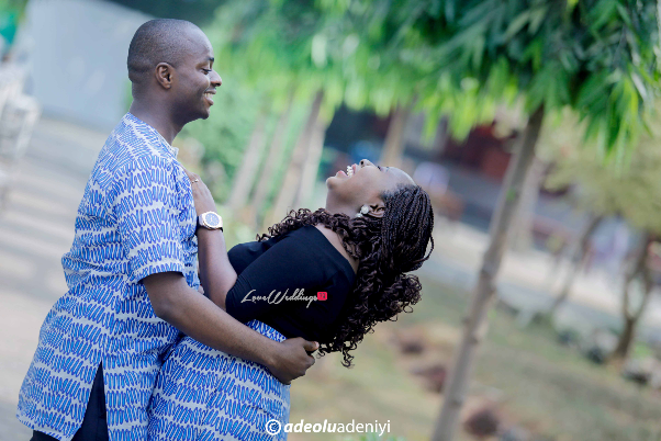 Nigerian Engagement Shoot Oluwagbenga and Adejumoke LoveweddingsNG Adeolu Adeniyi Photography