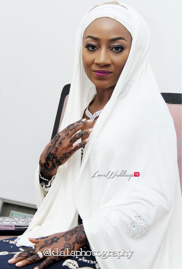 Nigerian Muslim Bride Bilkisu and Hakeem Klala Photography LoveweddingsNG 1