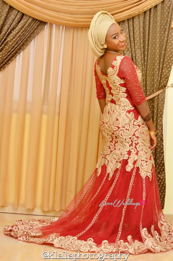 Nigerian Traditional Bride Bilkisu Klala Photography LoveweddingsNG 2