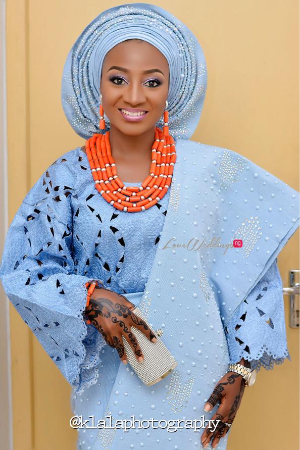 Nigerian Traditional Bride Bilkisu and Hakeem Klala Photography LoveweddingsNG 1