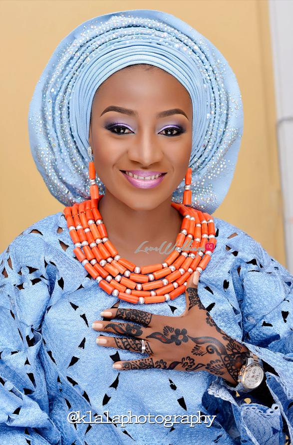Nigerian Traditional Bride Bilkisu and Hakeem Klala Photography LoveweddingsNG 10