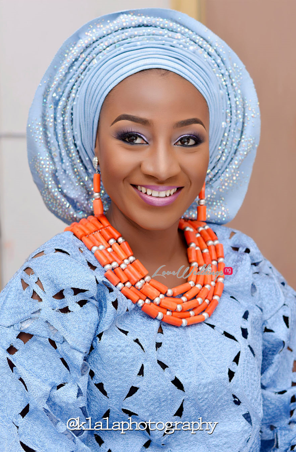 Nigerian Traditional Bride Bilkisu and Hakeem Klala Photography LoveweddingsNG 11