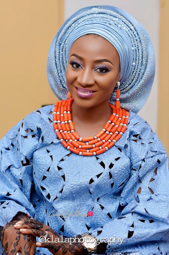 Nigerian Traditional Bride Bilkisu and Hakeem Klala Photography LoveweddingsNG 19