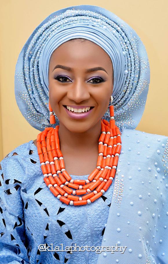 Nigerian Traditional Bride Bilkisu and Hakeem Klala Photography LoveweddingsNG 2