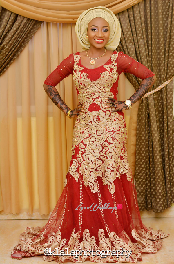 Nigerian Traditional Bride Bilkisu and Hakeem Klala Photography LoveweddingsNG 4