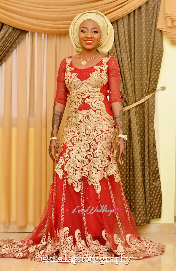 Nigerian Traditional Bride Bilkisu and Hakeem Klala Photography LoveweddingsNG 5