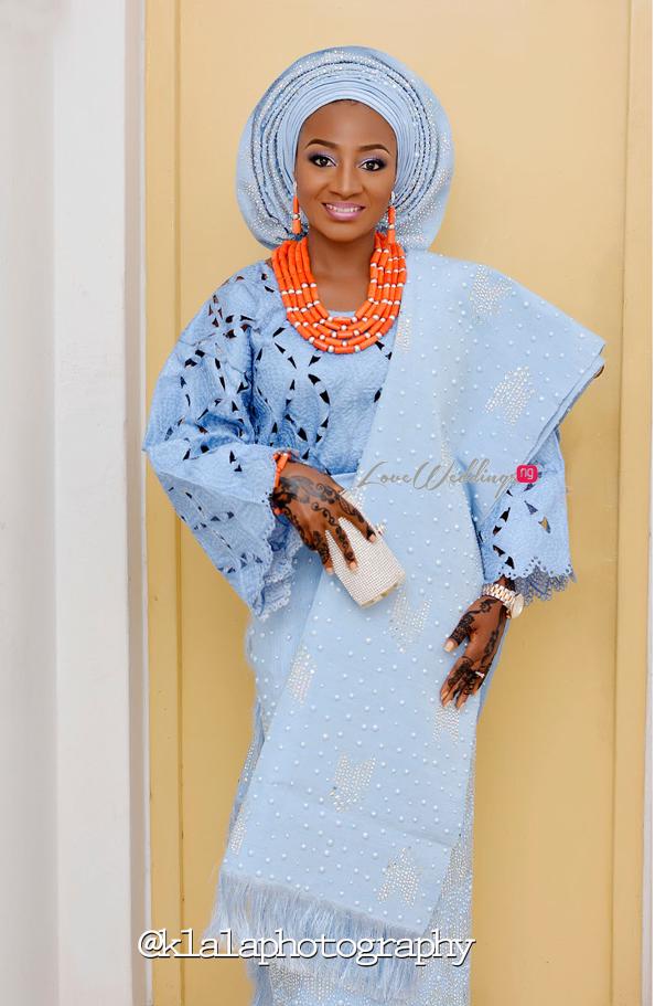 Nigerian Traditional Bride Bilkisu and Hakeem Klala Photography LoveweddingsNG