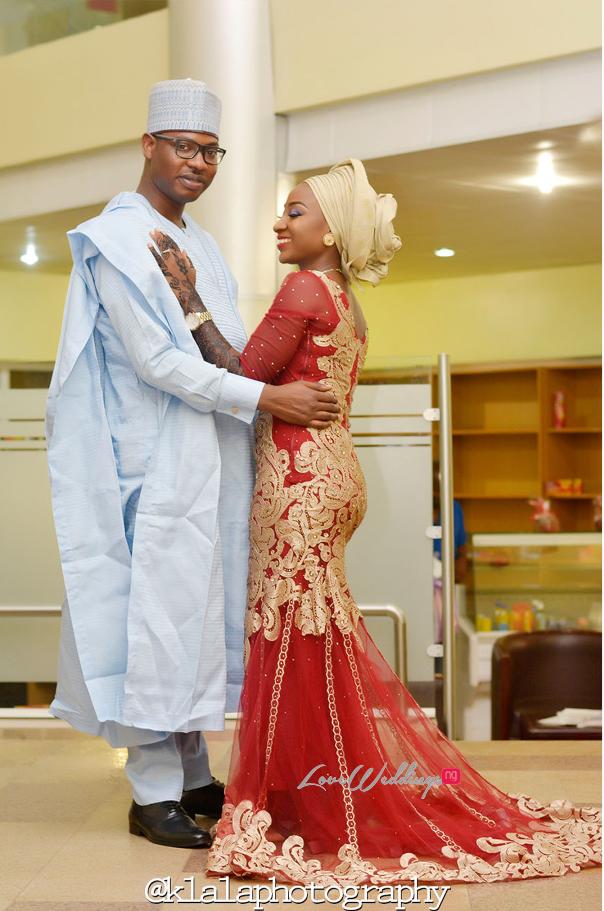 Nigerian Traditional Couple Bilkisu and Hakeem Klala Photography LoveweddingsNG 1