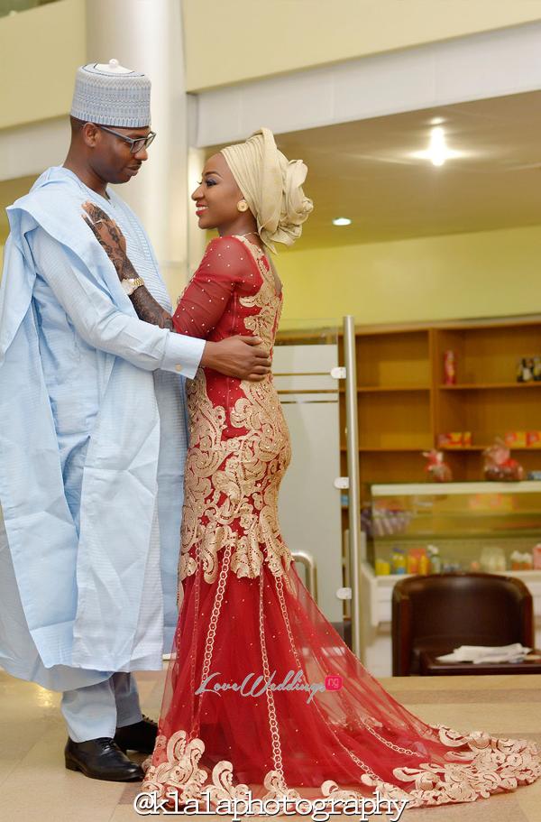 Nigerian Traditional Couple Bilkisu and Hakeem Klala Photography LoveweddingsNG