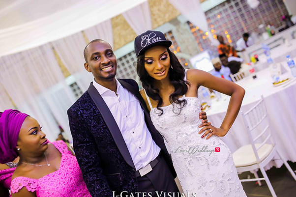 Nigerian Traditional Couple #MrandMrsChurch LoveweddingsNG 13
