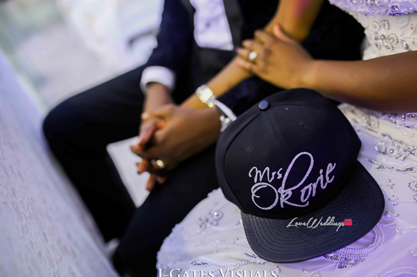 Nigerian Traditional Couple #MrandMrsChurch LoveweddingsNG 14