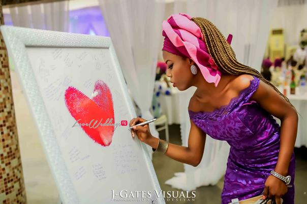 Nigerian Traditional Couple #MrandMrsChurch LoveweddingsNG 15