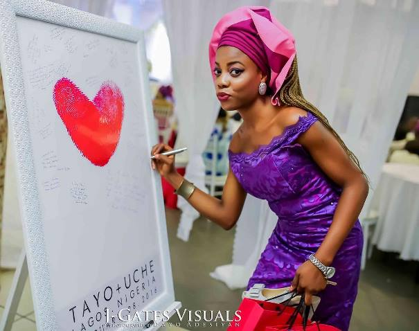 Nigerian Wedding Guest Board #MrandMrsChurch LoveweddingsNG