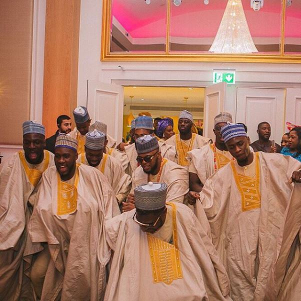 Nigerian Wedding TolaYemi LoveweddingsNG - Groomsmen Aso ebi