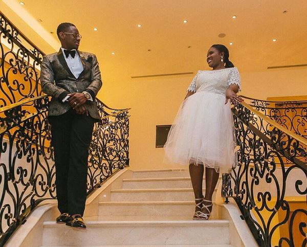 Nigerian Wedding TolaYemi Reception Outfit LoveweddingsNG