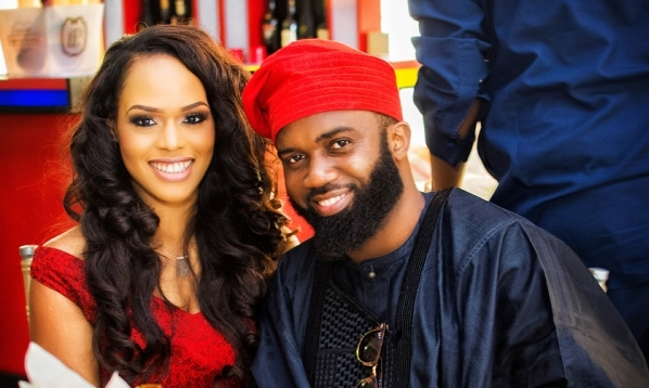 First Photos from Noble Igwe & Chioma Otisi's Traditional Wedding