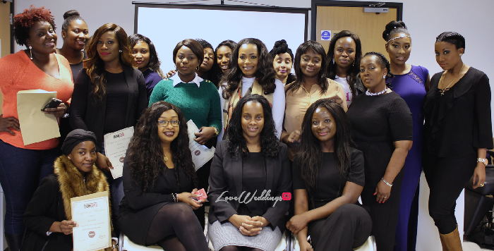 Dionne Smith, Joy Adenuga & Seyi Ayinla at The Bridal Masterclass