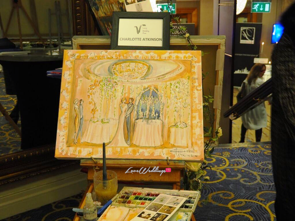 The Luxury Wedding Show 2016 LoveweddingsNG - Charlotte Atkinson Watercolour Weddings 2