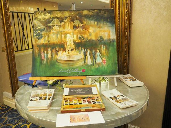 The Luxury Wedding Show 2016 LoveweddingsNG - Charlotte Atkinson Watercolour Weddings