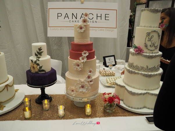 The Luxury Wedding Show 2016 LoveweddingsNG - Panache Cake Designs 1
