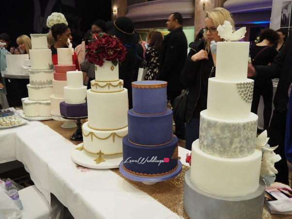 The Luxury Wedding Show 2016 LoveweddingsNG - Panache Cake Designs