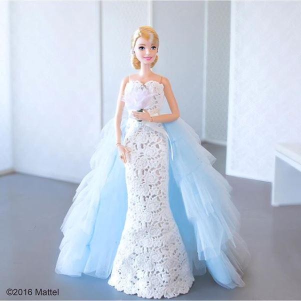 Barbie Oscar de la Renta doll LoveweddingsNG 5