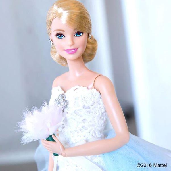 Barbie Oscar de la Renta doll LoveweddingsNG 6
