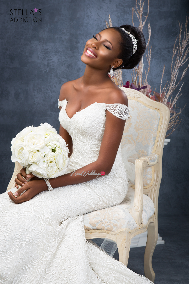 Bridal Hair and Makeup Inspiration Stellas Addiction LoveweddingsNG 2