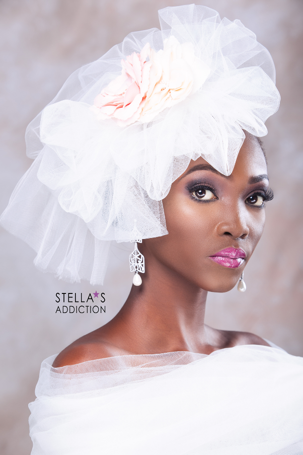 Bridal Hair and Makeup Inspiration Stellas Addiction LoveweddingsNG 6