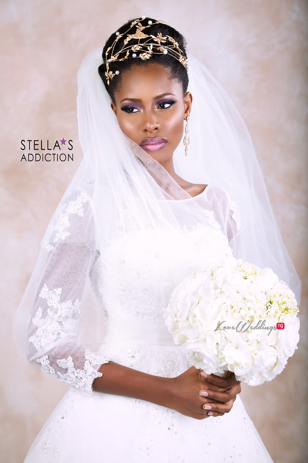 Bridal Hair and Makeup Inspiration Stellas Addiction LoveweddingsNG 8